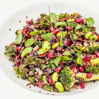 Salad Quinoa superfood