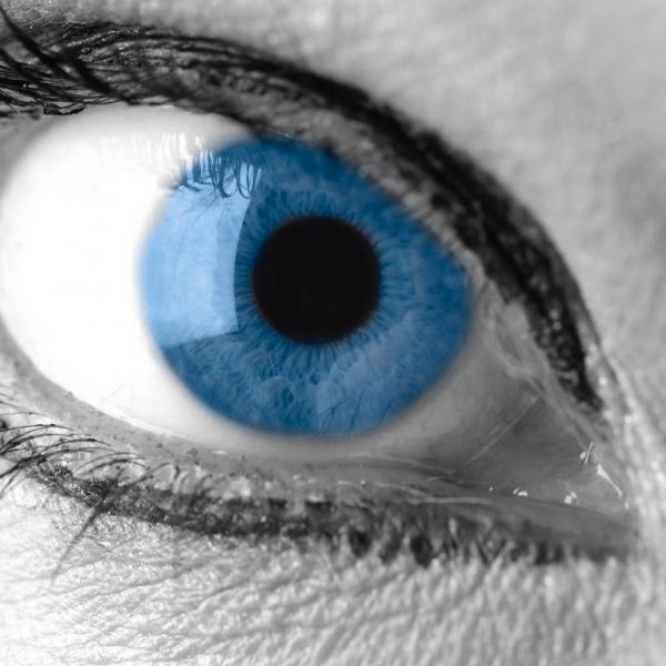 Stress levels may be seen in the eyes