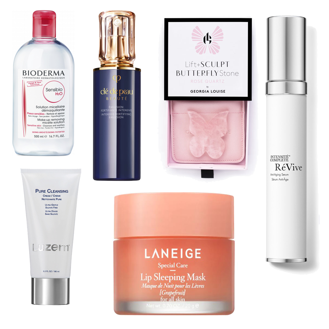 Beauty routine serale high-end