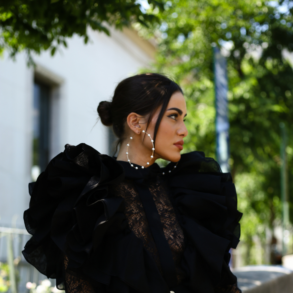 Camila Coelho attending Haute Couture Fashion Week in Paris - July 3, 2019 ©Cover Media