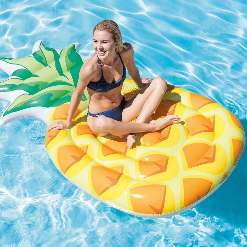 Materassino gonfiabile ananas