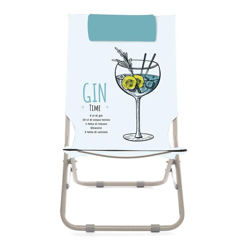 Spiaggina con poggiatesta Gin