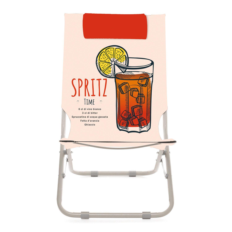 Spiaggina con poggiatesta Spritz