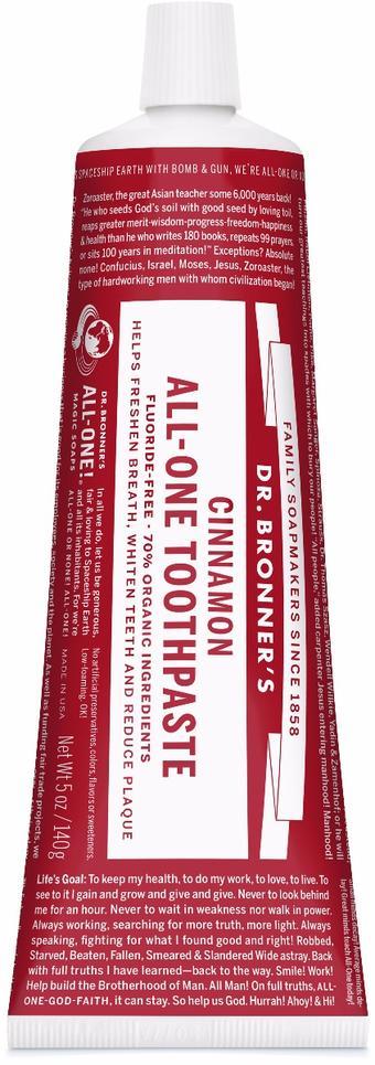 Dr. Bronner's Toothpaste Cinnamon