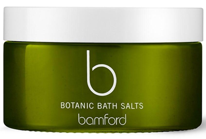Bamford Botanic Bath Salts with Geranium essential oil ©Bamford