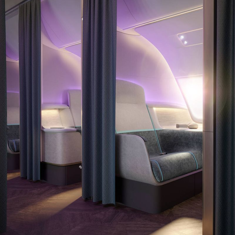 Design: cabins for post-pandemic air travel