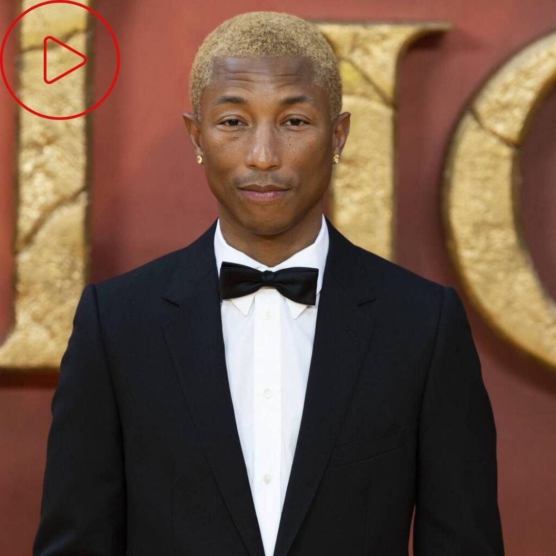 Face cloth: Pharrell Williams's top skincare tip