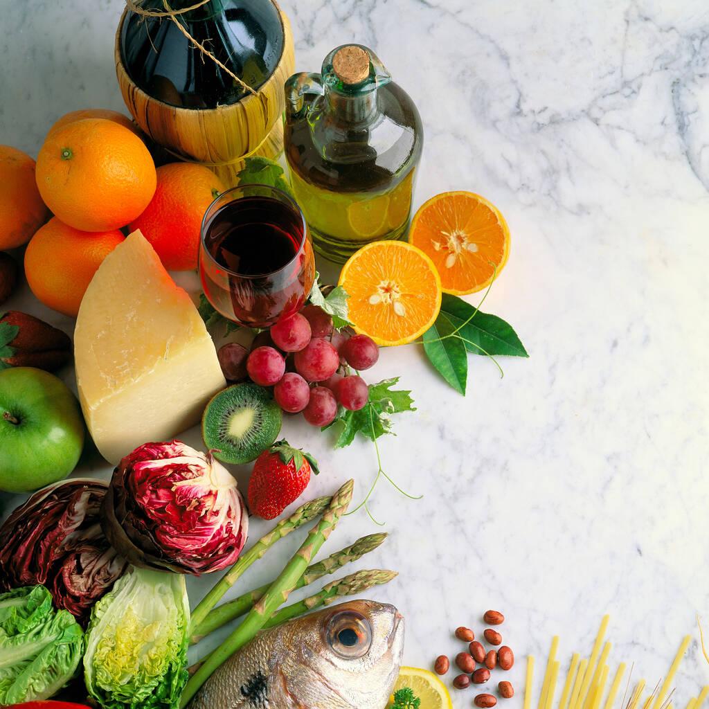 Mangiar bene: dieta mediterranea